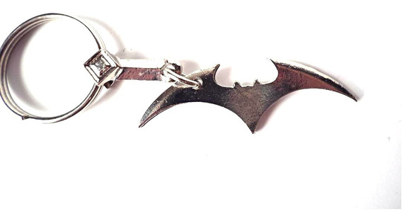 Llavero Batman Batarang Metal Dc Superheroes Jocker Comics