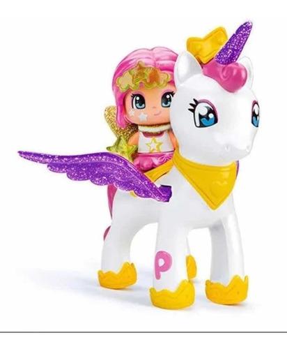 Pinypon Unicornio Volador + Figura