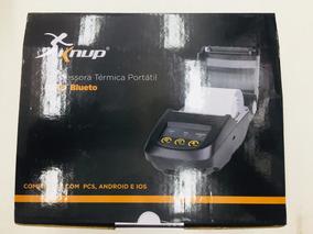 Impressora Térmica Portatil Usb Bluetooth Knup Kp-1019