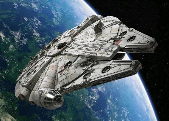 Simulador De Voo Com Nave Star Wars Millenium Falcon