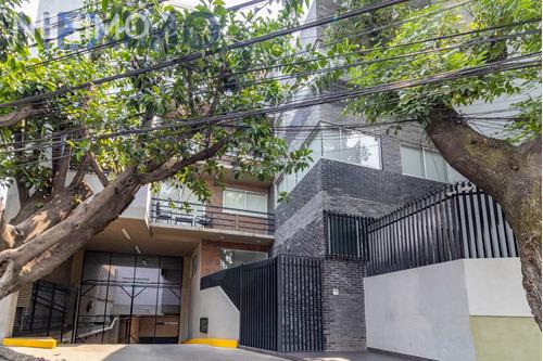 Imagen 1 de 21 de Departamento En Venta Con Roof Privado En El Rosedal, Coyoacán, Ciudad De México
