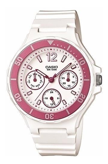 Reloj Casio Lrw-250h-4a Mujer Analógico Envio Gratis