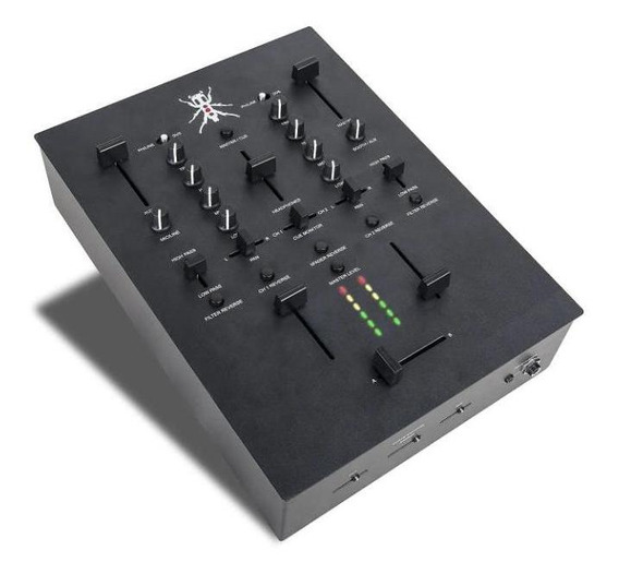 Mixer Dj Tech Q-bert Signature Mixer (trxbk)