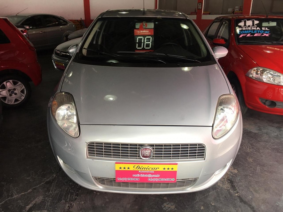 Fiat - Punto - 2008 - 1.4 Elx - Flex - 5p - Prata