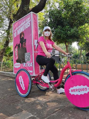 Imagen 1 de 10 de Bicicletas Publicitarias Publicidad Bici Vallas Edecan
