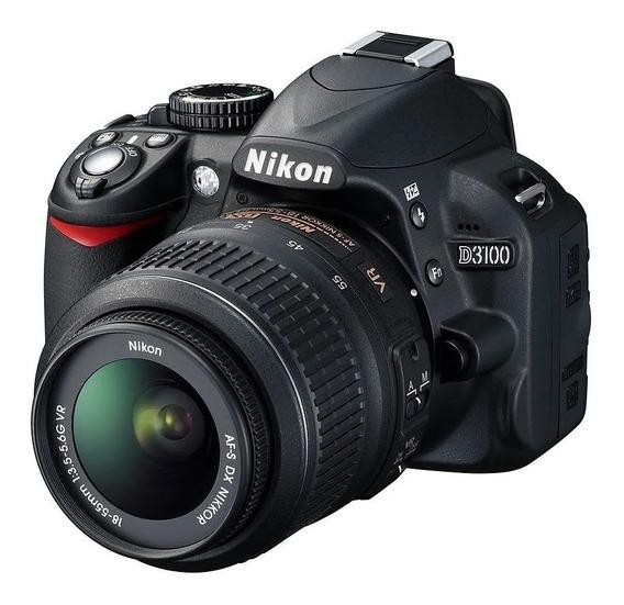 Camera Nikon D3100 So Corpo Vr Usada +nota Fiscal