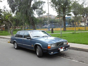 Volvo 760 Gle Sueco Original - Impecable