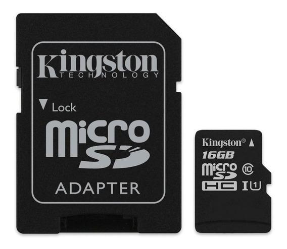 Cartão de memória Kingston SDCS Canvas Select 16GB