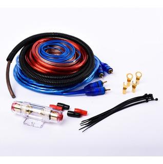 Kit Cables Instalacion Potencia 8 Gauge Hasta 1500w Maverick Maverick Awk-8ga-b