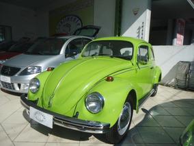 Volkswagen Fusca 1300 Verde 1973