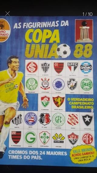 Lote Figurinhas Copa União 88 - 480 Diferentes - Excelentes
