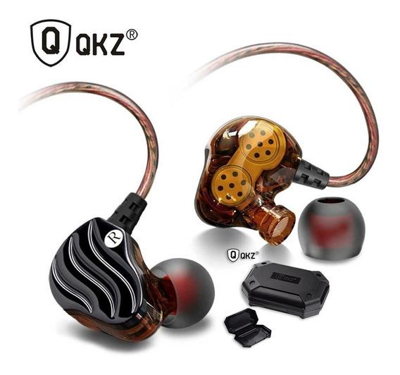 Shure Se215 Fonede Ouvido In Ear Qkz Kd4 Dual Driver Retorno De Palco