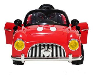Auto A Bateria Mickey Y Minnie 12v Disney