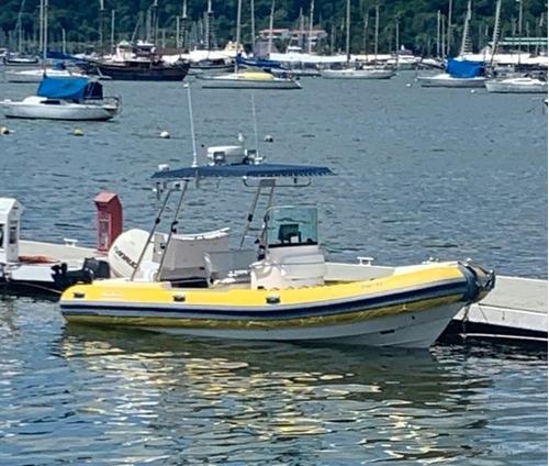 Bote Flexboat 620 Lx Com Motor Evinrude 225