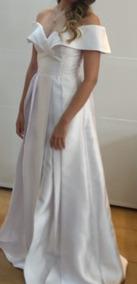 Vestido De Noiva Longo Princesa Tafetá Casamento, Pre Weddi