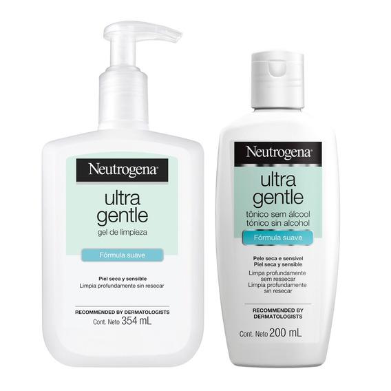 Gel Limpiador + Tónico Neutrogena Ultra Gentle Piel Sensible