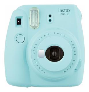 Cámara Fuji Instax Mini 9 Instantánea Fujifilm Azul Hielo