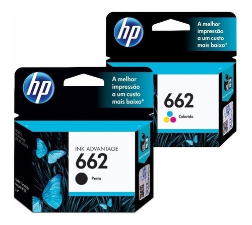 Hp 662 Original Pack Negro & Color Oferta Garantia Oficial