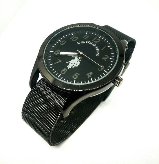 Reloj U.s. Polo Assn Nuevo Original Con Extensible Intercamb