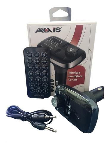 Sistema Manos Libres Bluetooth Para Carro Axxis Nuevo Origin