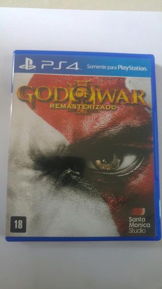 Jogo Ps4 God Of War Iii Original Mídia Física Frete Fixo