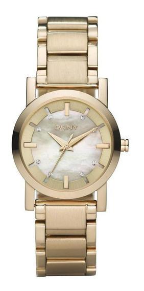 Relógio Feminino Dkny Dourado - Original