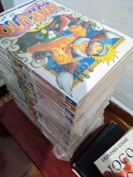 Mangás Naruto 1 Ao 27 + Data Book 1 Edição Normal