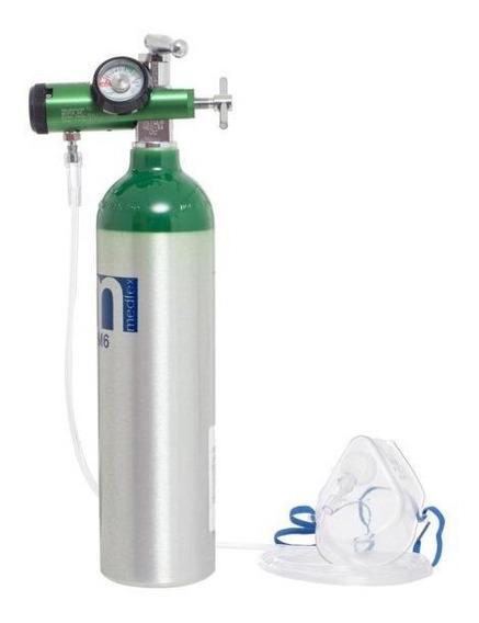 Tanque De Oxígeno De Mochila 170 Lts - Envío Gratis - Medfex