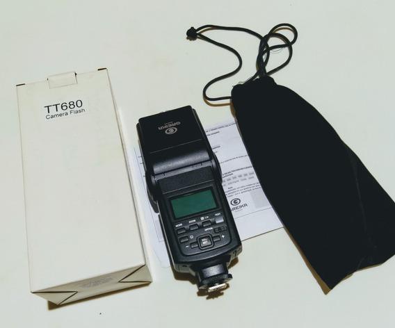 Flash E-ttl Speedlite Godox Greika Tt680