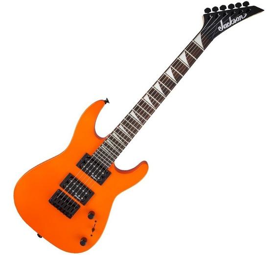 Guitarra Jackson Dinky Minion Js1x Neon Orange 291 2223