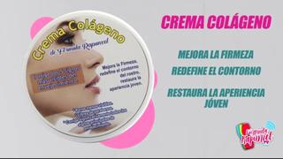 Crema Colageno Fórmula Rapunzel Anti Arrugas