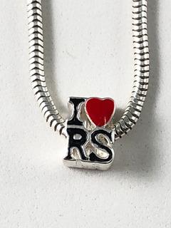 Berloque Charm P/ Pulseira Prata 925 Love Rio Grande Sul