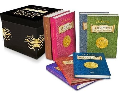 Box Harry Potter - Edição Colecionador - 7 Livros, Capa Dura