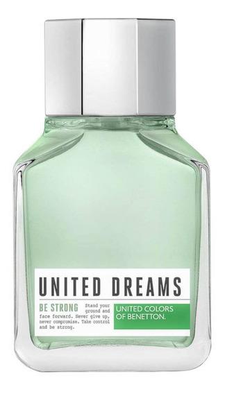 United Dreams Be Strong Benetton Edt Perfume Masc 100ml Blz