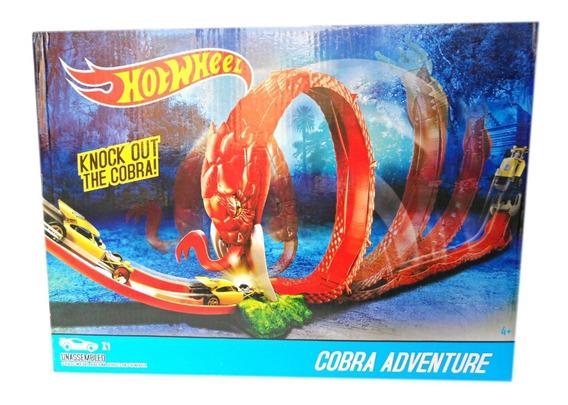 Pista De Carritos Hotwheels Cobra Adventure