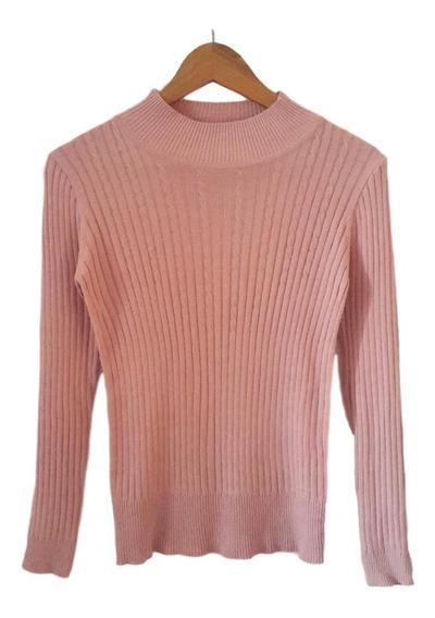 Sweater De Hilo Y Lycra Mujer
