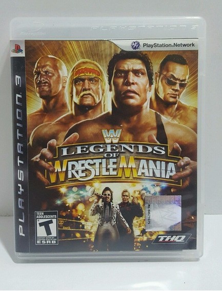 Wwe Legends Of Wrestlemania Ps3 Barato