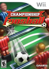 Nintendo Wii Juego Campeonato Futbolín Nuevo
