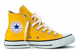 Tênis Converse All Star Core Bota Amarela Adulto E Infantil