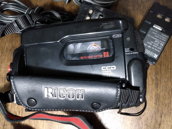 Câmera Filmadora Vídeo 8 Ricoh Com Defeito.