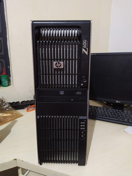 Workstation Hp Z600 Xeon X5560+6gb Ecc+hd500gb+quadro 600