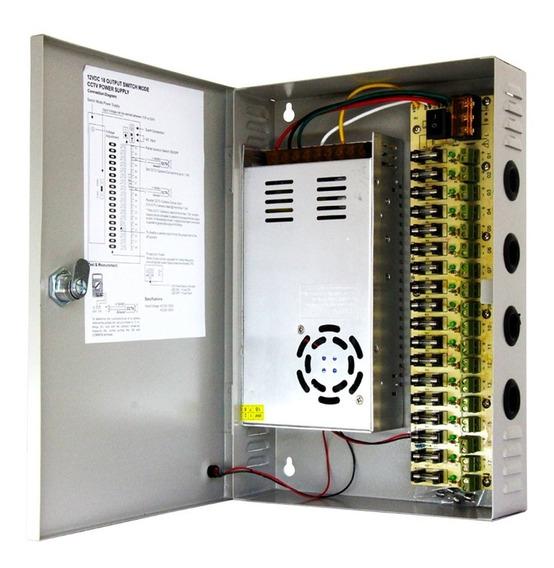 2 Fontes Rack Organizadoras Estabilizadas 12v 30 Amperes