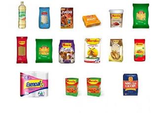 Combo Económico Surtido De Alimentos Harina Yerba Tomate Etc
