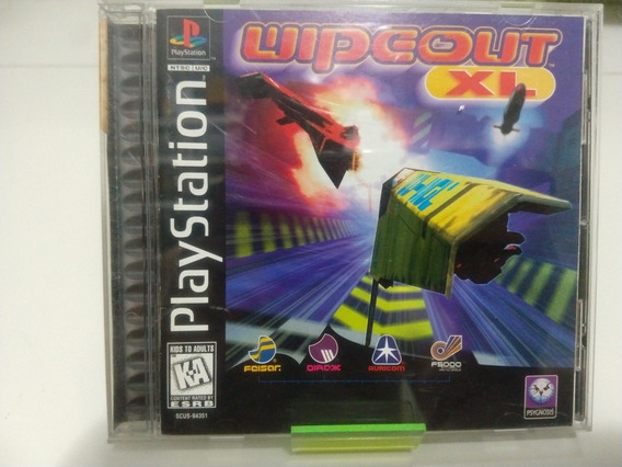 Wipeout Xl Ps1 Original Excelente
