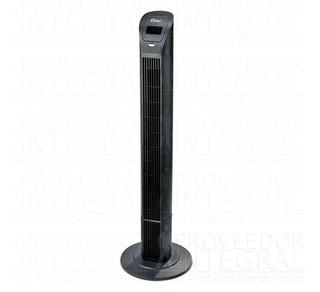 Ventilador Torre Negro Con Control Remoto Nuevo Oster 9115r