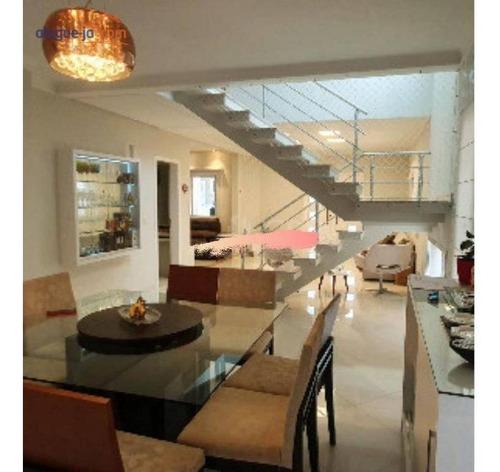 Casa Com 4 Dormitórios À Venda, 240 M² Por R$ 1.370.000,00 - Urbanova - São José Dos Campos/sp - Ca3633