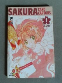 Sakura Card Captor N°1. Frete R$ 10,00. Raro. Jbc