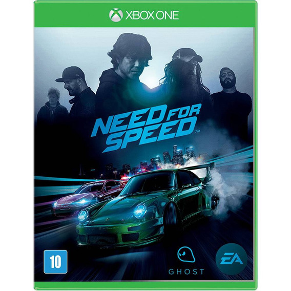 Jogo Need For Speed Xbox One - Mídia Física - Novo