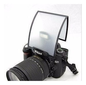 Difusor Câmeras Flash Pop-up Universal