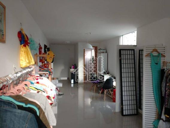 Sala À Venda, 36 M² Por R$ 190.000 - Santa Rosa - Niterói/rj - Sa0096